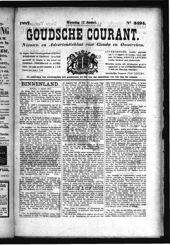 Goudsche Courant 1887-01-12