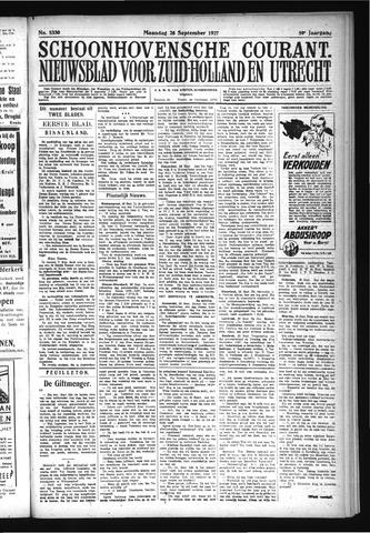Schoonhovensche Courant 1927-09-26