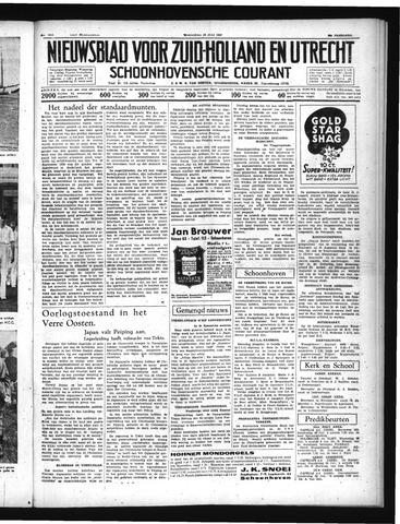Schoonhovensche Courant 1937-07-28