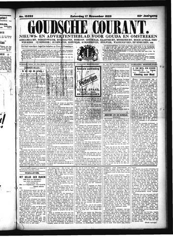 Goudsche Courant 1923-11-17