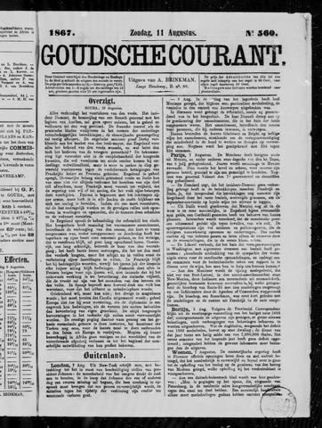 Goudsche Courant 1867-08-11