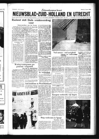Schoonhovensche Courant 1959-01-12
