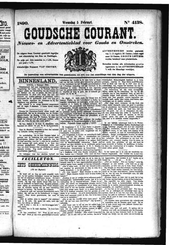 Goudsche Courant 1890-02-05