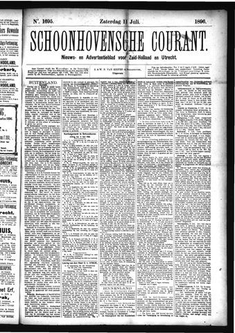 Schoonhovensche Courant 1896-07-11