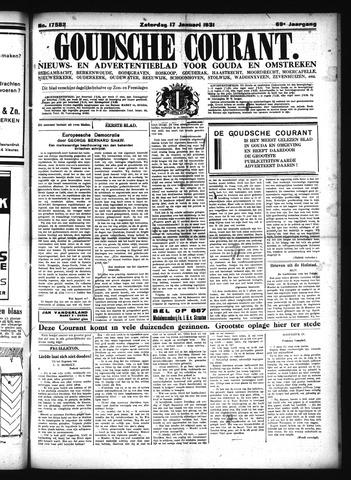 Goudsche Courant 1931-01-17