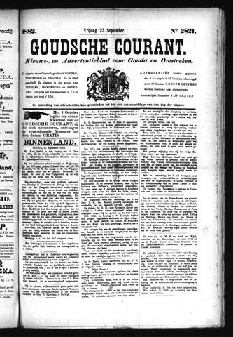 Goudsche Courant 1882-09-22