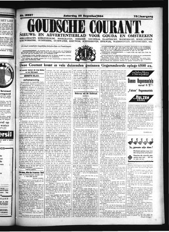 Goudsche Courant 1934-08-25