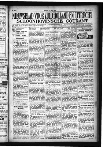 Schoonhovensche Courant 1928-04-23