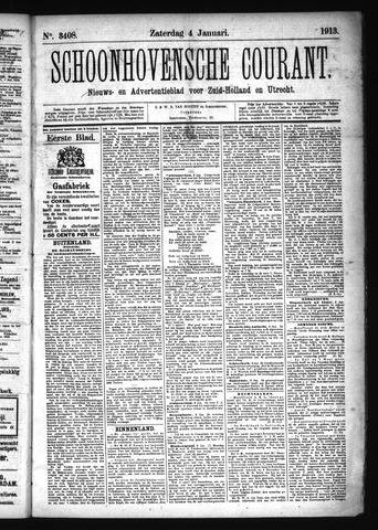 Schoonhovensche Courant 1913-01-04