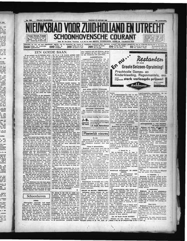 Schoonhovensche Courant 1938-01-28