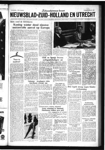 Schoonhovensche Courant 1963-02-22