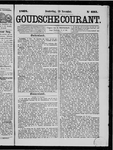 Goudsche Courant 1868-11-19