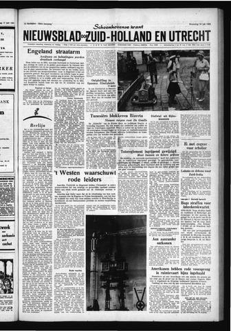 Schoonhovensche Courant 1961-07-19