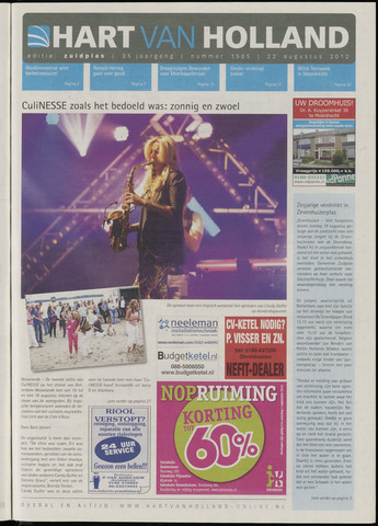 Hart van Holland - Editie Zuidplas 2012-08-22