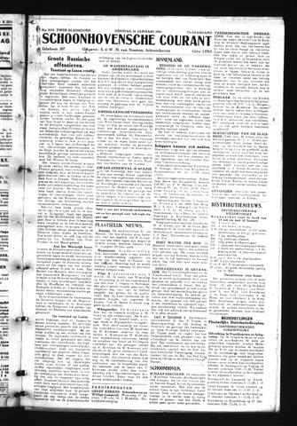 Schoonhovensche Courant 1945-01-16