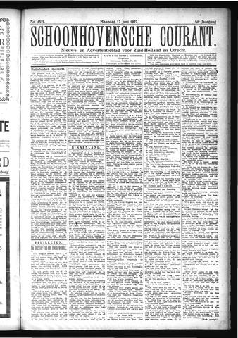 Schoonhovensche Courant 1922-06-12