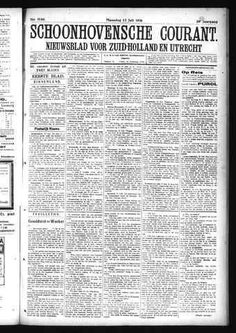 Schoonhovensche Courant 1926-07-12