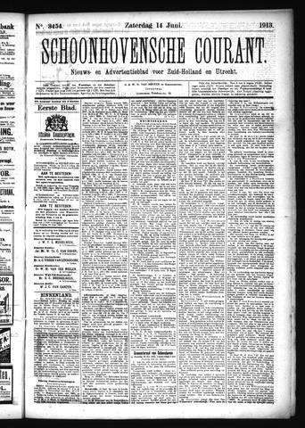 Schoonhovensche Courant 1913-06-14