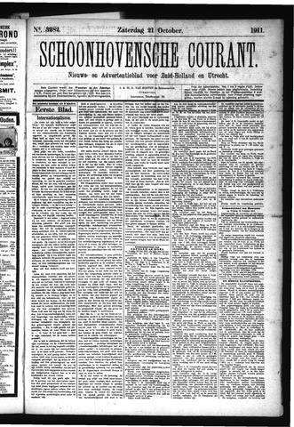 Schoonhovensche Courant 1911-10-21