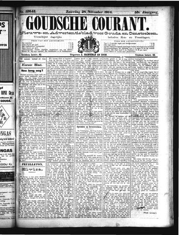 Goudsche Courant 1914-11-28