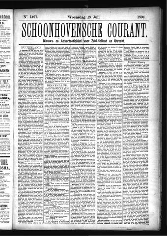 Schoonhovensche Courant 1894-07-18