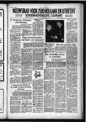 Schoonhovensche Courant 1953-12-14