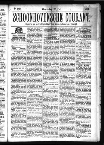 Schoonhovensche Courant 1893-07-26