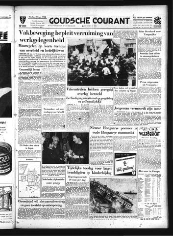 Goudsche Courant 1958-01-28