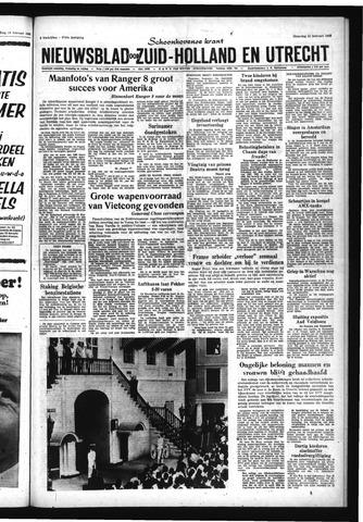 Schoonhovensche Courant 1965-02-22