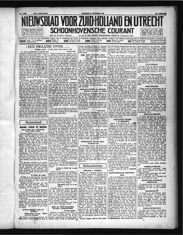 Schoonhovensche Courant 1936-11-30