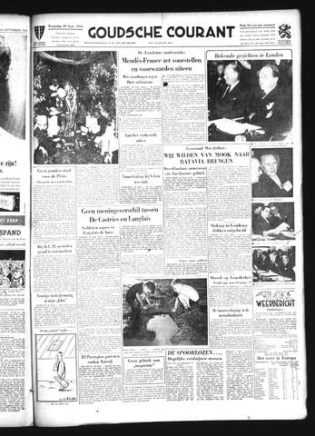Goudsche Courant 1954-09-29