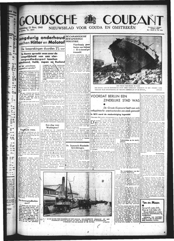 Goudsche Courant 1940-11-13