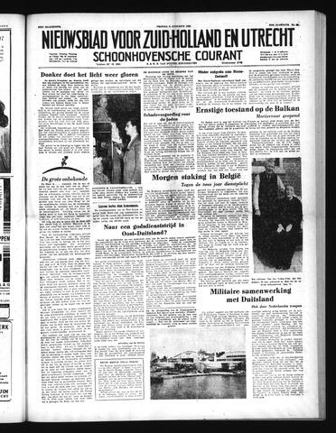 Schoonhovensche Courant 1952-08-08