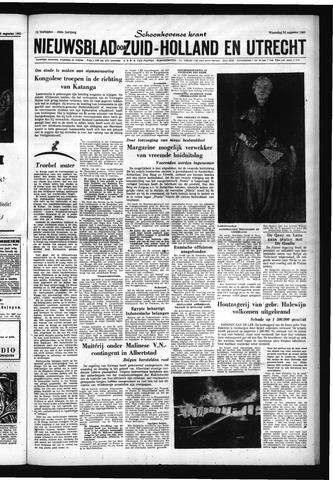 Schoonhovensche Courant 1960-08-24