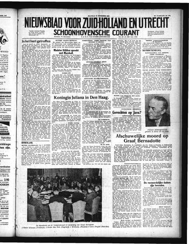 Schoonhovensche Courant 1948-09-20