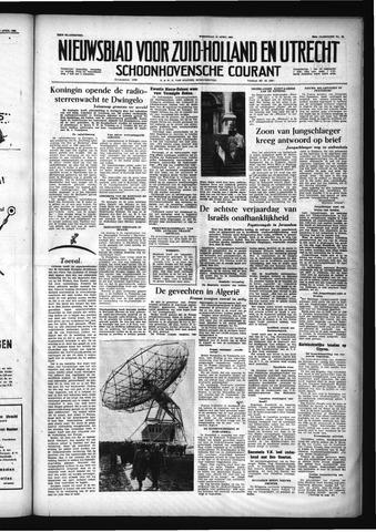 Schoonhovensche Courant 1956-04-18