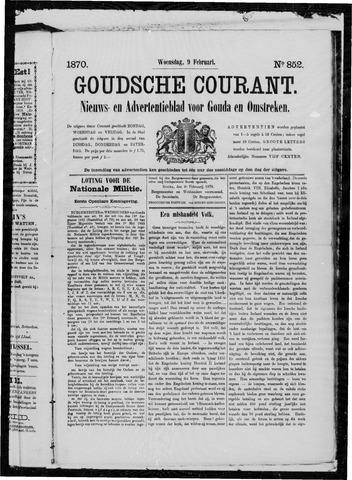 Goudsche Courant 1870-02-09