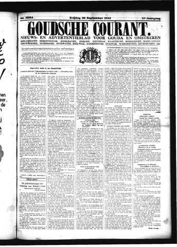 Goudsche Courant 1932-09-30