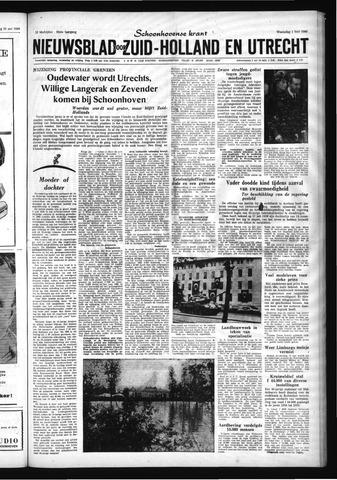 Schoonhovensche Courant 1960-06-01