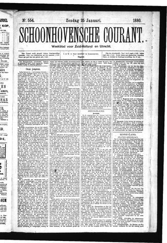 Schoonhovensche Courant 1880-01-25