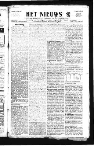 Schoonhovensche Courant 1945-06-22