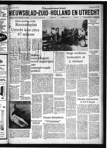 Schoonhovensche Courant 1972-06-12