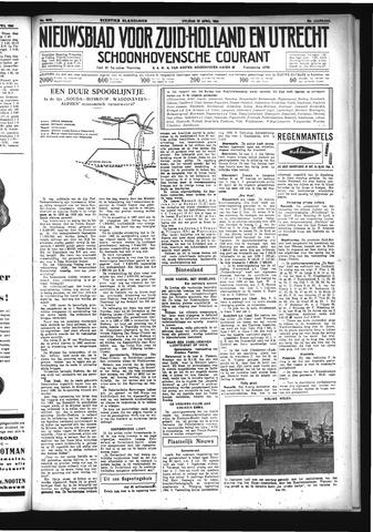 Schoonhovensche Courant 1934-04-27