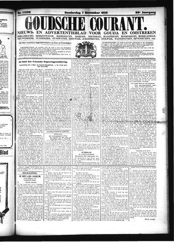 Goudsche Courant 1929-11-07