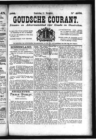 Goudsche Courant 1889-11-21