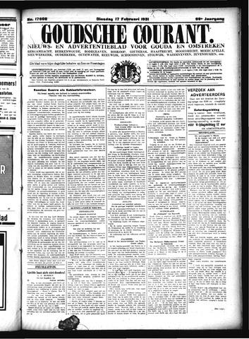 Goudsche Courant 1931-02-17
