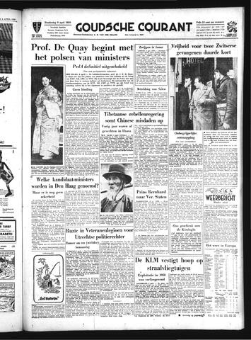 Goudsche Courant 1959-04-09