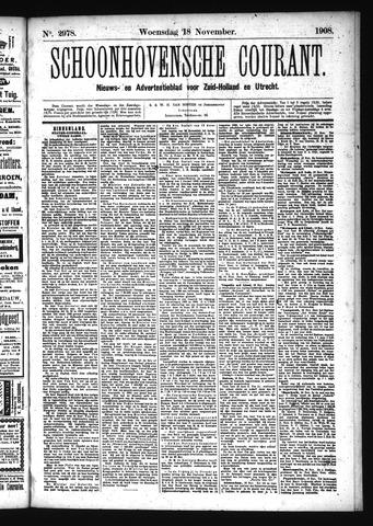 Schoonhovensche Courant 1908-11-18