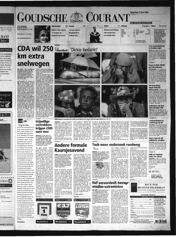 Goudsche Courant 2004-06-21