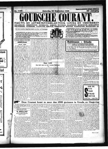 Goudsche Courant 1929-09-28